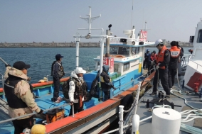 포항해양경찰서 동해안 낚시어선 안전위반 집중단속!